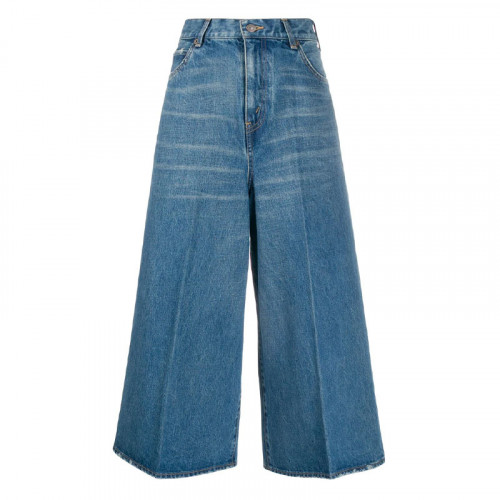culotte B4 RIGID INDIGO DENIM
