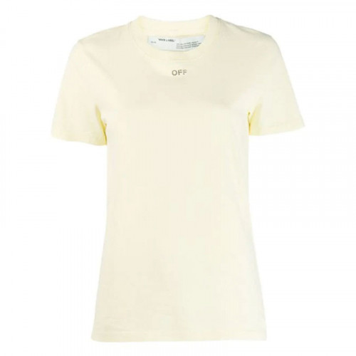 SHIFTED CARRYOVER CASUAL TEE YELLOW YELL