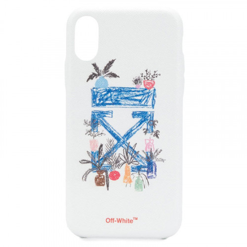 DE GRAFT ARROW IPHONE X WHITE BLUE