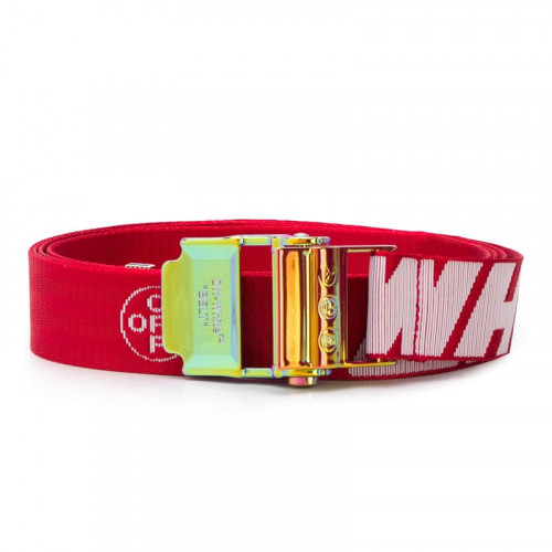 2.0 INDUSTRIAL BELT RED WHITE