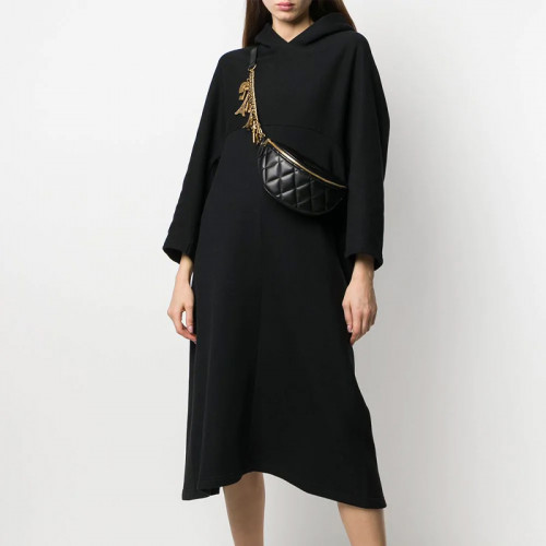 Cocoon Hooded Dress
