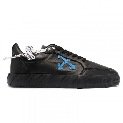 LOW VULCANIZED NAPPA LEATHER BLACK BLUE
