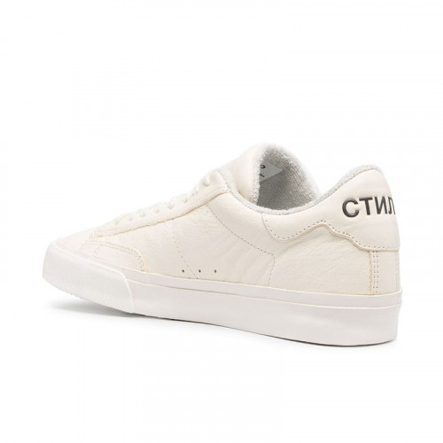 VULCANIZED LOW TOP WHITE BLACK