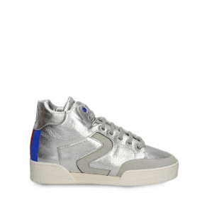 STELLA HIGH-TOP SNEAKERS SILVER