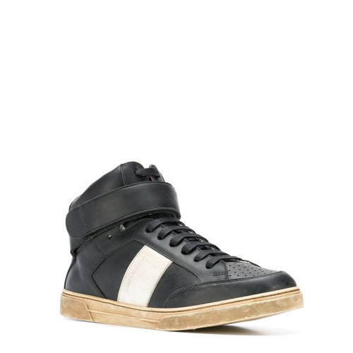 MAX VELCRO SNEAKER IN LEATHER