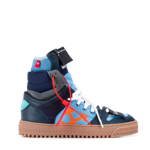 OFF COURT HI TOP SNEAKERS