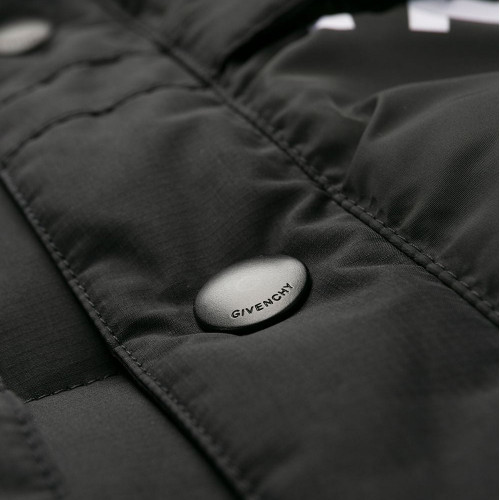 ALL-OVER-LOGO DOWN JACKET